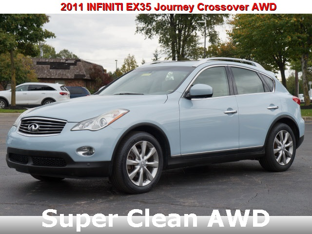 Pre-Owned 2011 INFINITI EX35 Journey