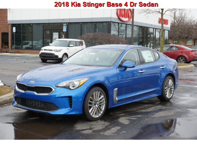 New 2018 Kia Stinger  AWD