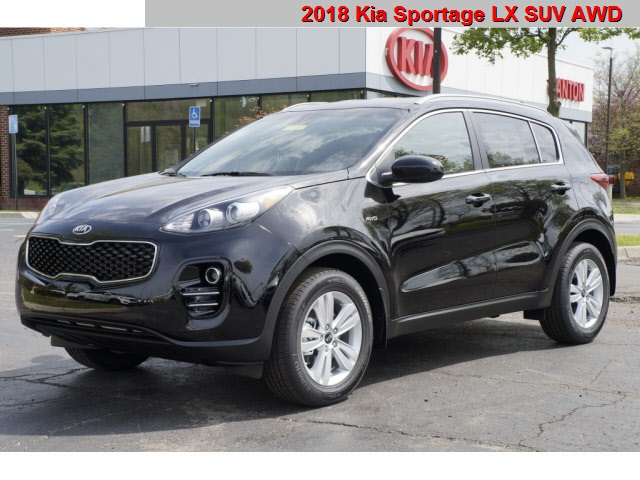 new 2018 kia sportage lx 4d sport utility in canton. Black Bedroom Furniture Sets. Home Design Ideas