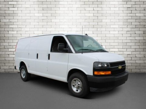 Pre-Owned 2018 Chevrolet Express 2500 Work Van RWD 3D Cargo Van
