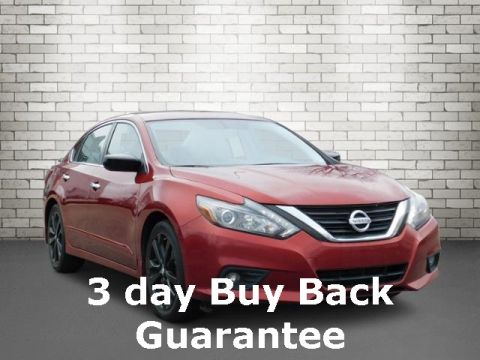 Certified Pre-Owned 2017 Nissan Altima 2.5 SR FWD 4D Sedan