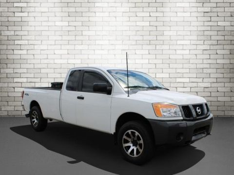 Pre-Owned 2008 Nissan Titan XE 4WD
