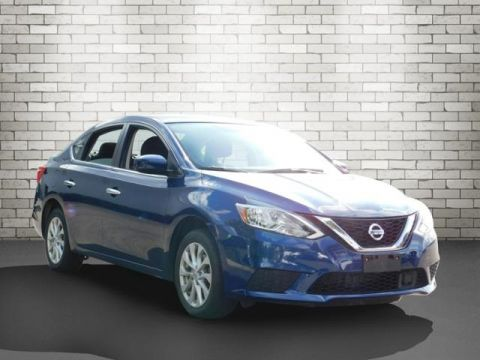 Certified Pre-Owned 2018 Nissan Sentra SV FWD 4D Sedan