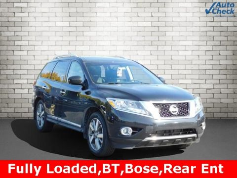 Pre-Owned 2016 Nissan Pathfinder Platinum With Navigation & 4WD