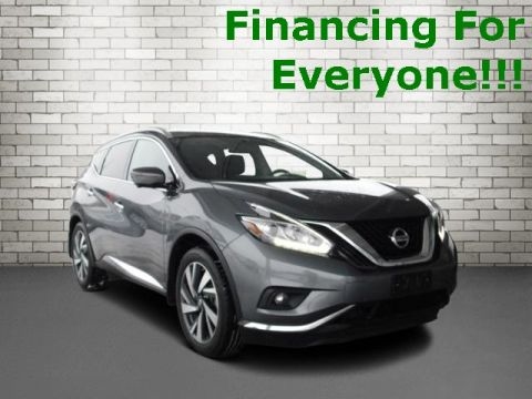 Pre-Owned 2018 Nissan Murano Platinum With Navigation & AWD