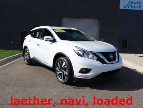 Certified Pre-Owned 2016 Nissan Murano Platinum With Navigation & AWD