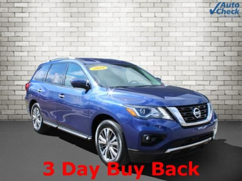 Certified Pre-Owned 2019 Nissan Pathfinder SL With Navigation & 4WD