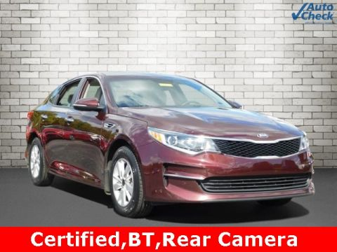 Certified Pre-Owned 2016 Kia Optima LX FWD 4D Sedan