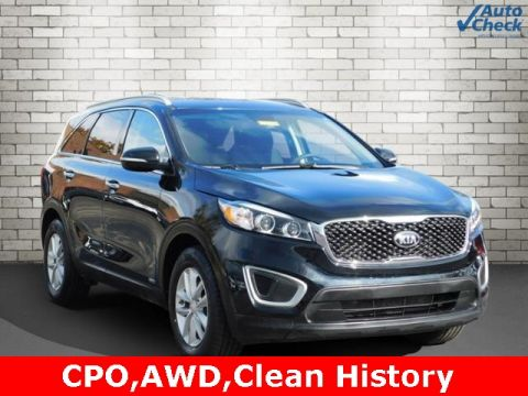Certified Pre-Owned 2017 Kia Sorento LX AWD