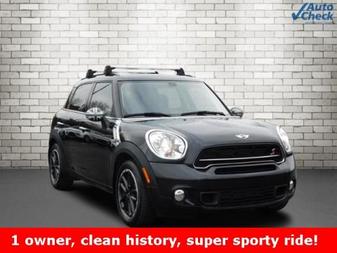 Pre-Owned 2015 MINI Cooper S Countryman Base FWD 4D Sport Utility